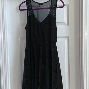 MATERIAL GIRL BLACK DRESS SIZE XL